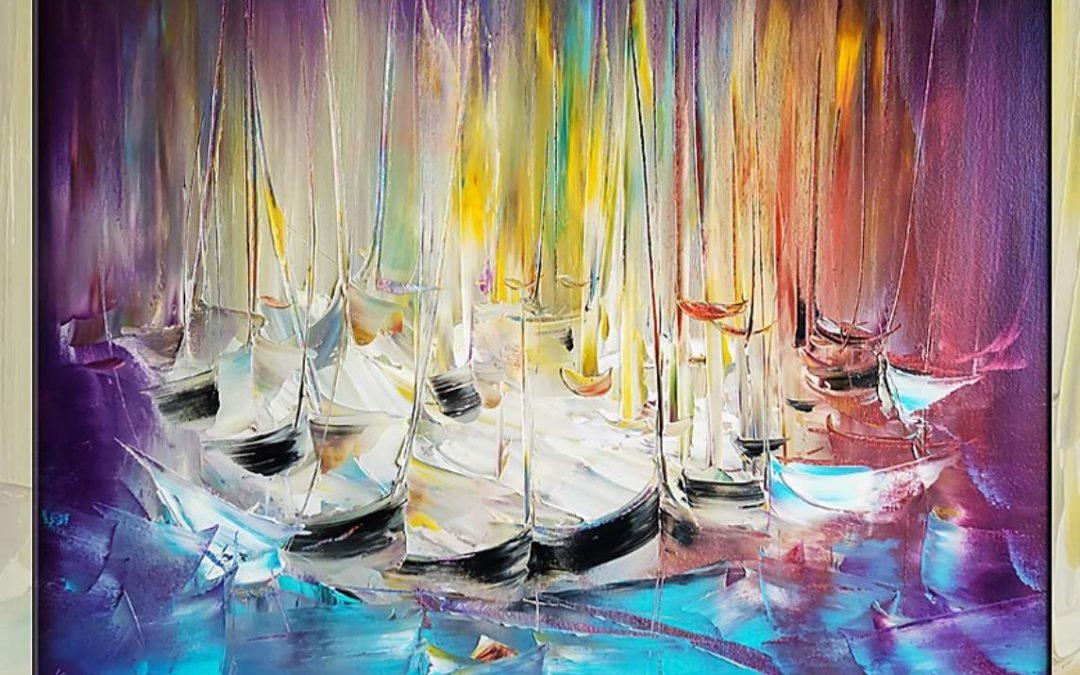 Изложба живопис Видимо и невидимо